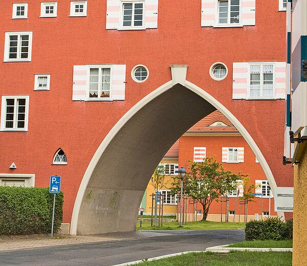Inspiriert von Bauhaus_Schmaler Rain