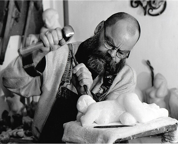Gothaer Bildhauer Rüdiger Wilfroth