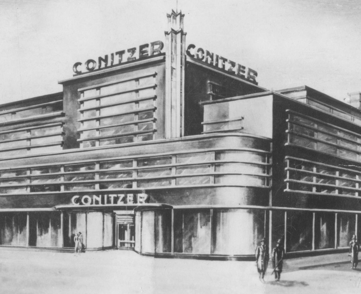 Bauhaus entdecken - Conitzer-Kaufhaus 1928-29_Archiv Klaus Blechschmidt