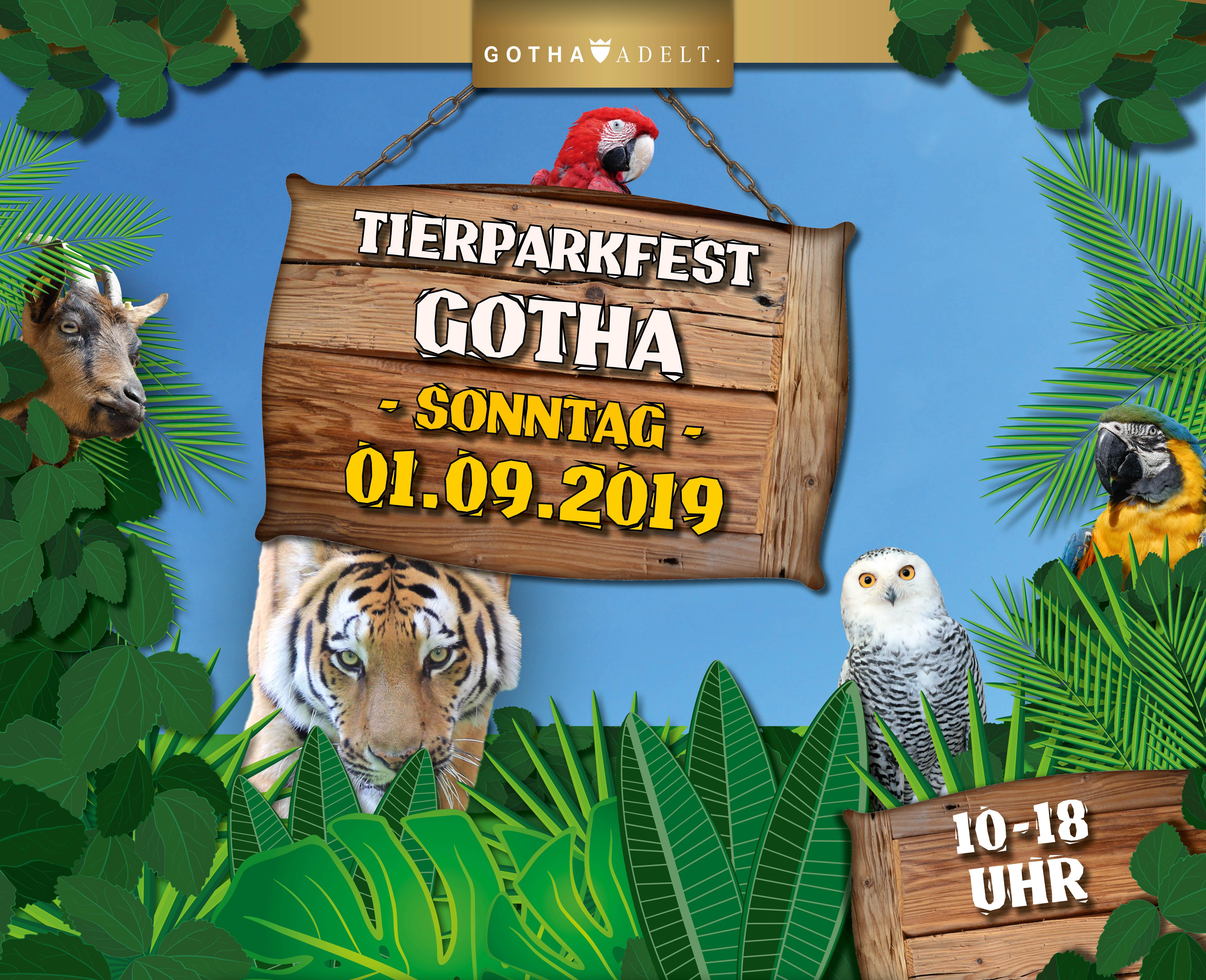 Tierparkfest im Tierpark Gotha