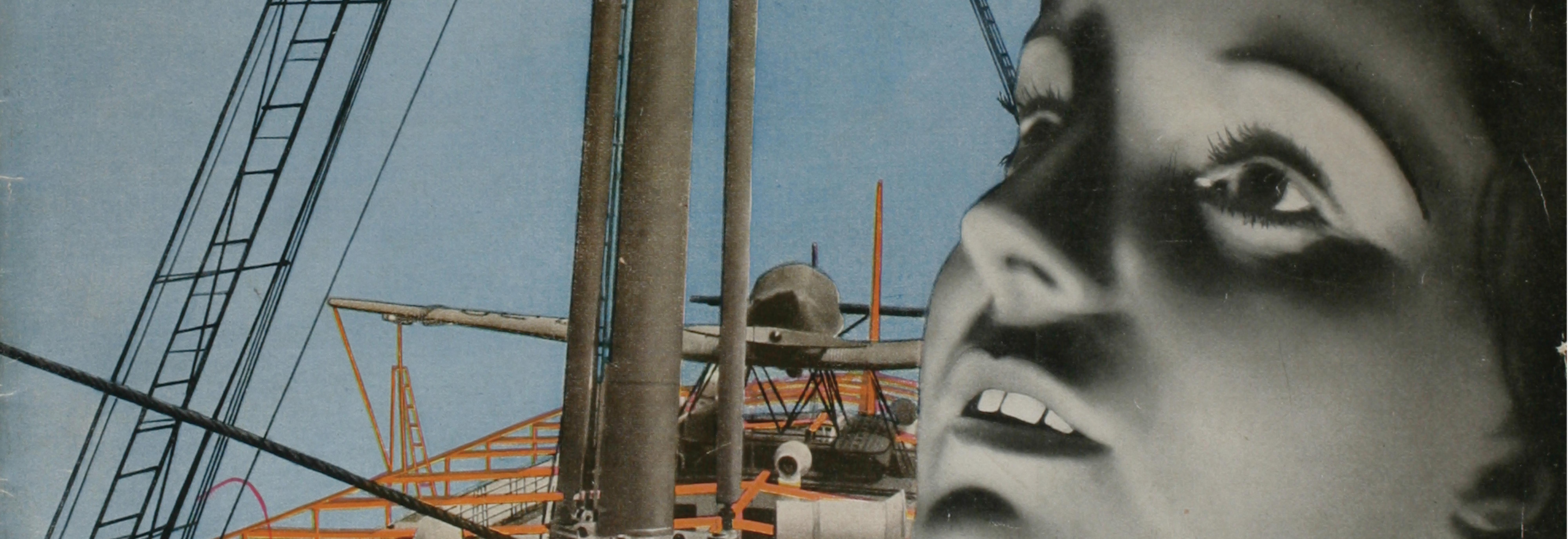 """László Moholy-Nagy, Umschlag für die Zeitschrift """"die neue linie"""""""